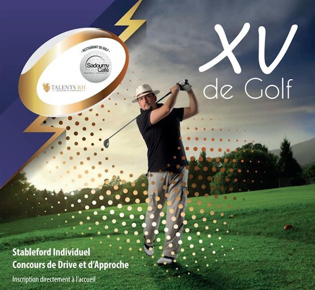 Compétition XV de Golf 2019