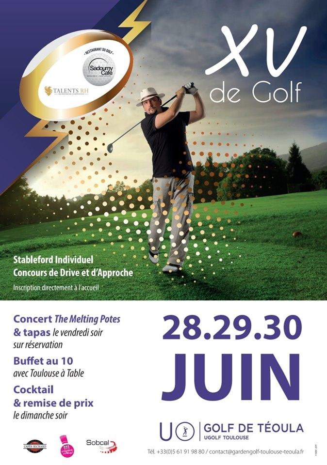 XV Compétition XV de Golf 2019